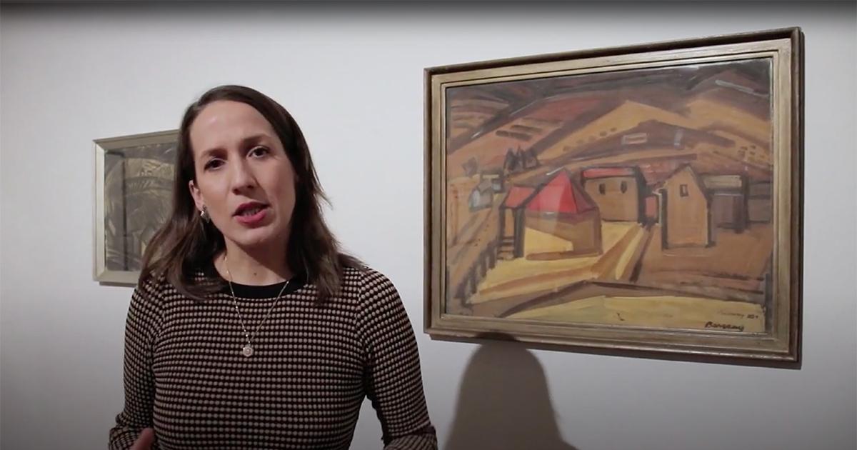 Barcsay titkai | Tárlatvezetés Szabó Noémi művészettörténésszel