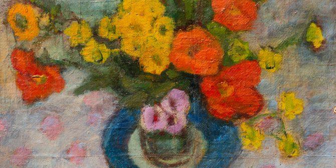 Modok Mária: Virágcsendélet